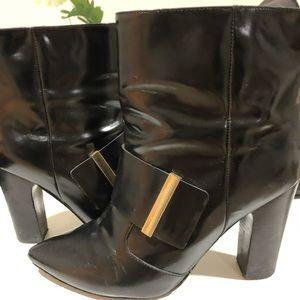 SEE by Chloe buckle booties